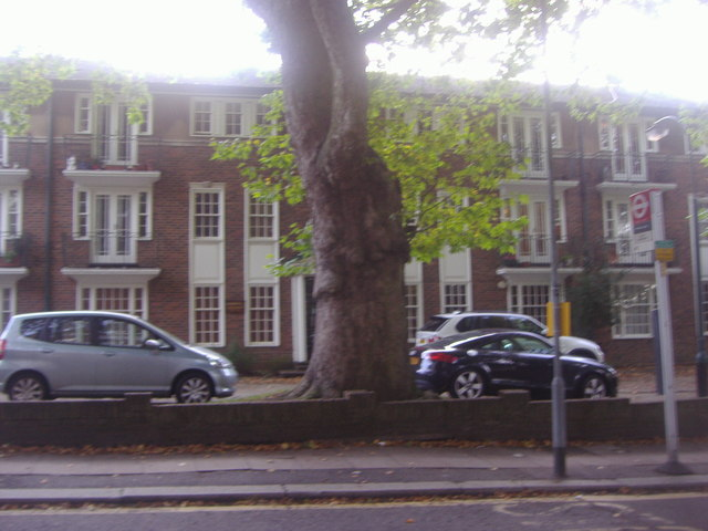 Flats on Stanhope Road, Highgate