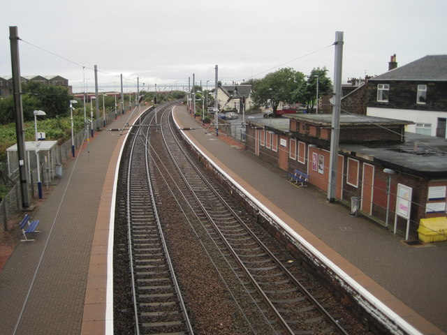 Newton-on-Ayr railway station, Ayrshire