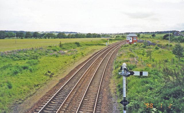 Site of former Inverkeilor station