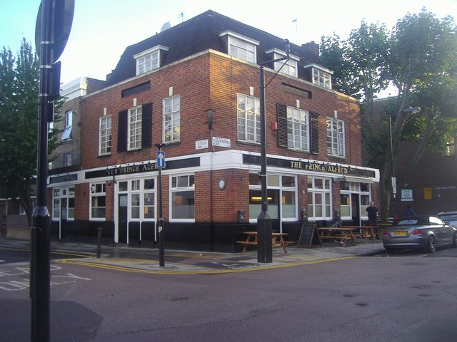 The Prince Alfred pub on Marlborough Road