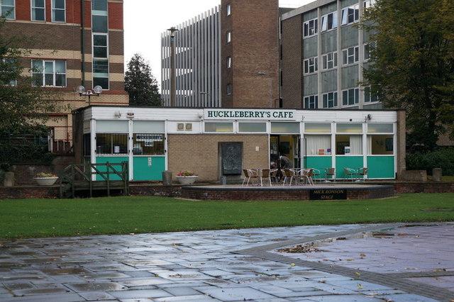 Huckleberry's Café, Queen's Gardens, Hull