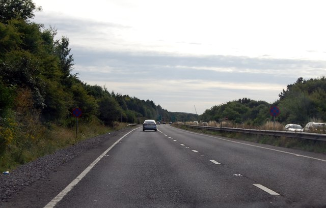 A303 approaching Andover