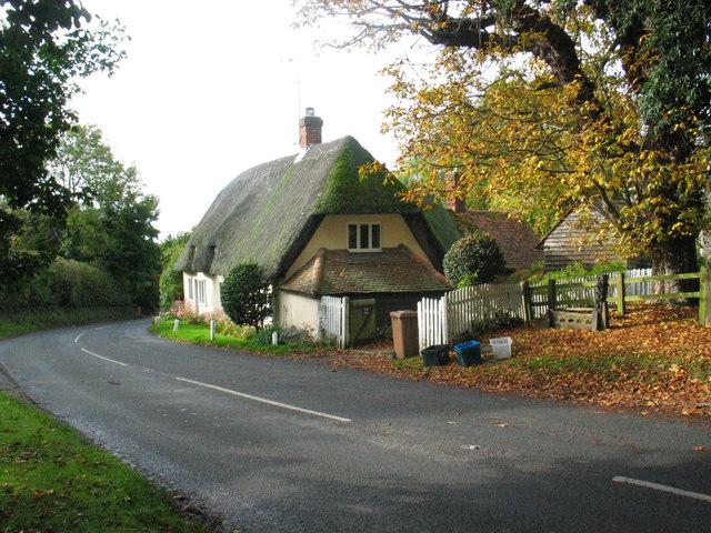 Thatched cottage, Brent Pelham