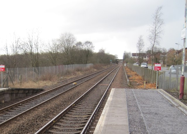 Stepps Road railway station (site), North Lanarkshire