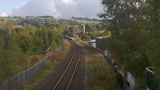 Kendal Railway Station looking east