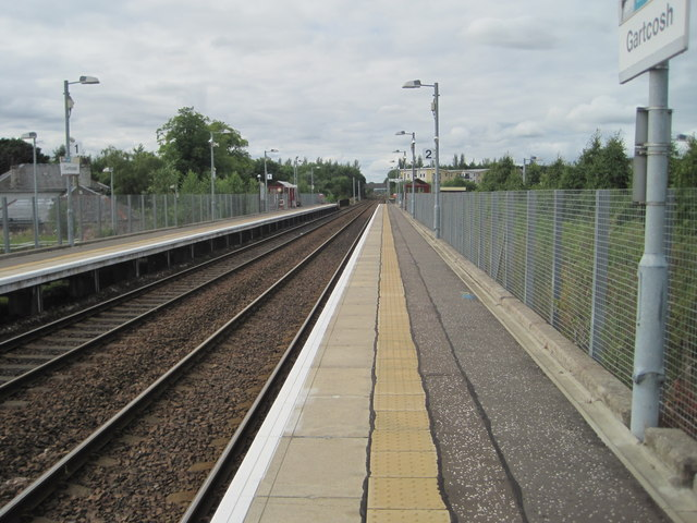 Gartcosh railway station, North Lanarkshire