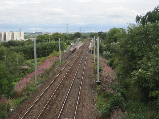 Gartcosh railway station, North Lanarkshire