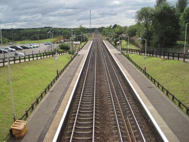 Greenfaulds railway station, North Lanarkshire