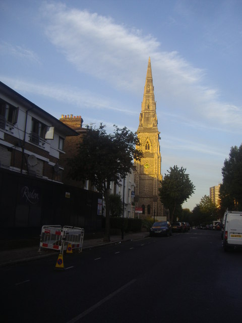 St Mary's Church on Ashley Road, Upper Holloway
