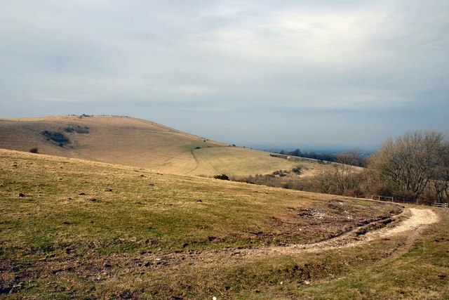 West to Wolstonbury Hill