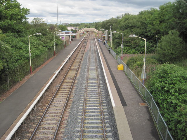 Cumbernauld railway station, North Lanarkshire
