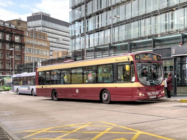 98 Bus at Shudehill