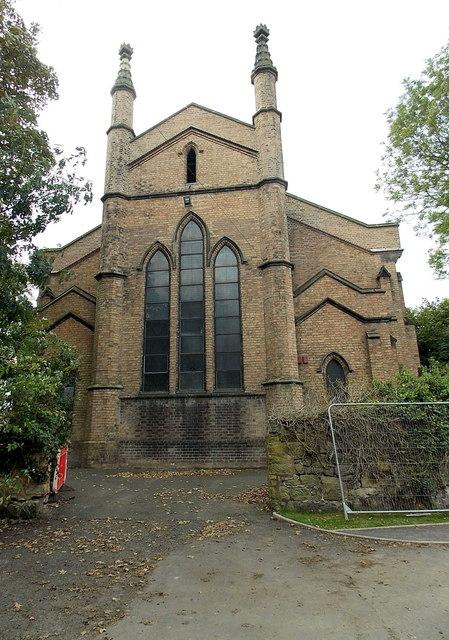 East side of Christ Church, Wellington