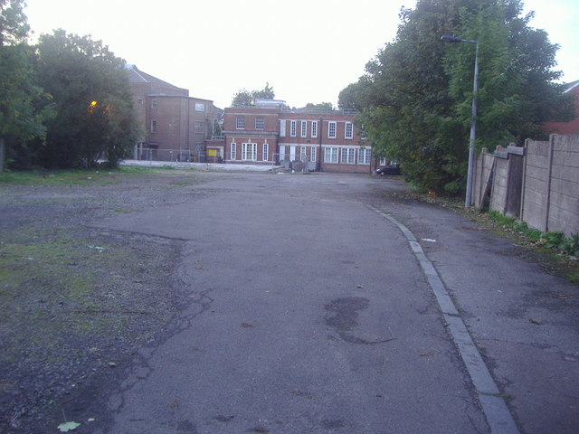 The rear of Hornsey Town Hall