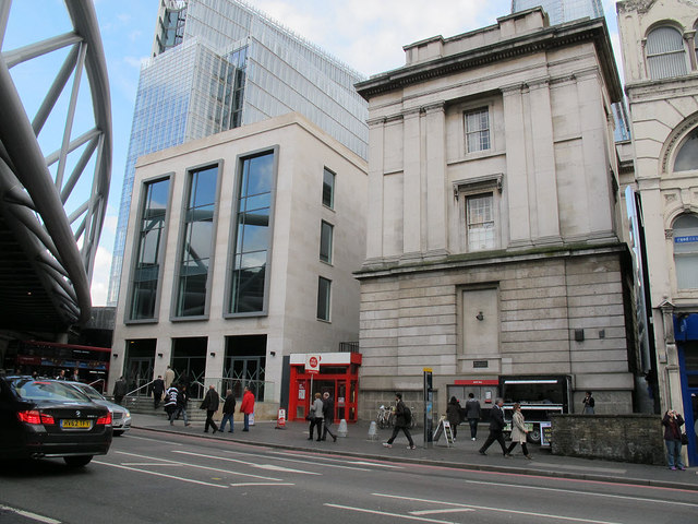London Bridge Post Office and new building