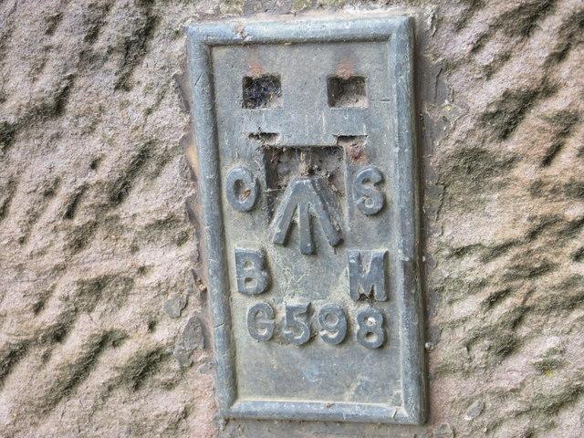 Ordnance Survey Flush Bracket G598