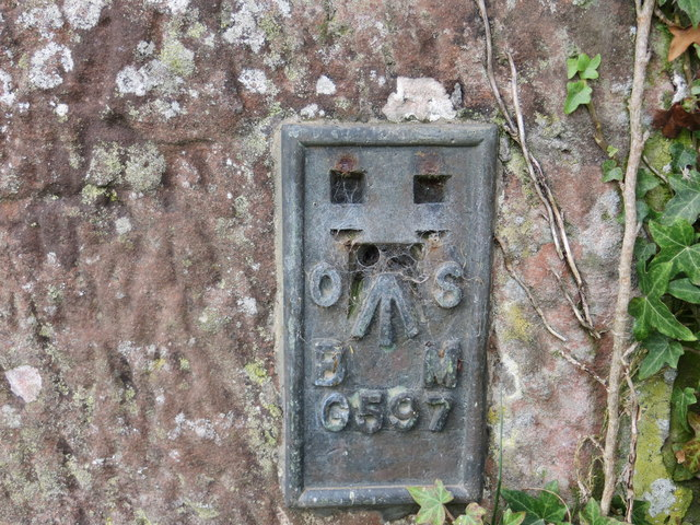 Ordnance Survey Flush Bracket G597