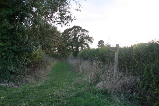 Path to Ashby-cum-Fenby from Grainsby