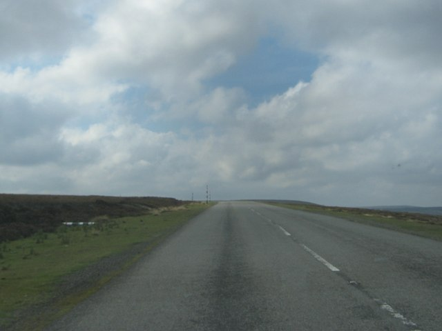 Road over the moors towards Stanhope