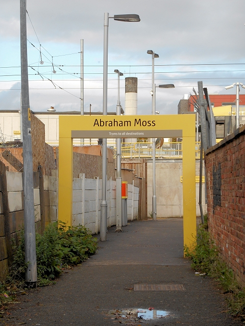 Passenger Access to Abraham Moss Tram Stop