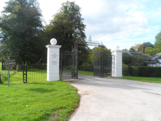 Entrance to Avington Park