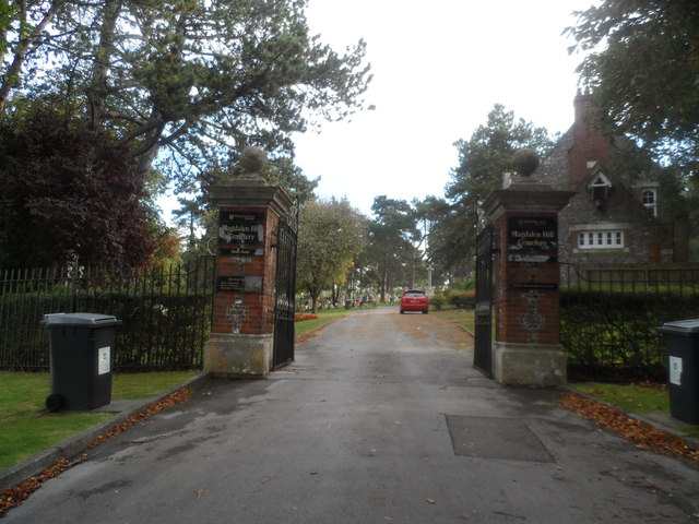 Entrance to Magdalen Hill Cemetery