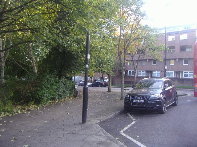 Hazelville Road by Elthorne Park