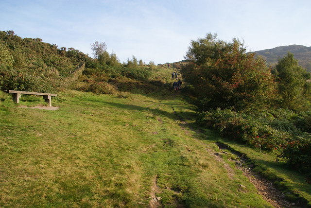 Path up Tegg's Nose