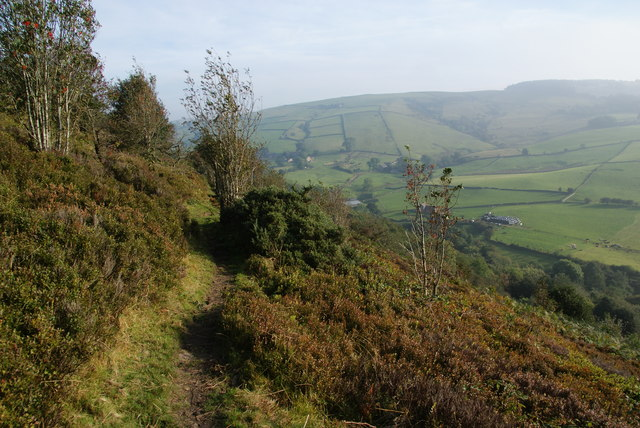 Path on the side of Tegg's Nose