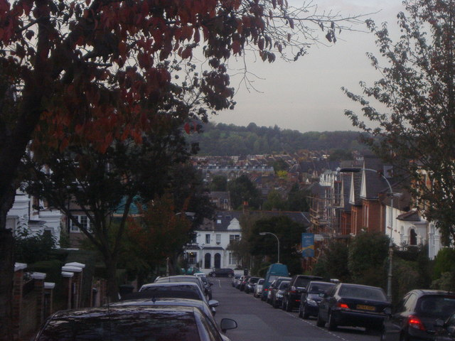 View from Gladwell Road, Crouch End