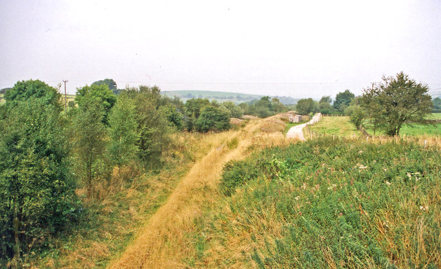 Site of former Ipstones station, 1999