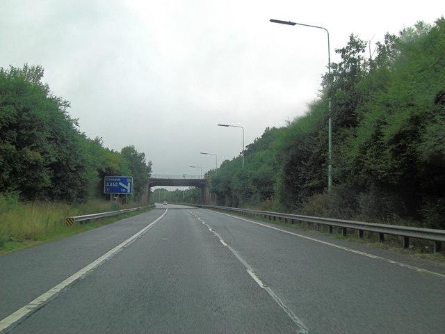 M54 spur Hobnock Road overbridge