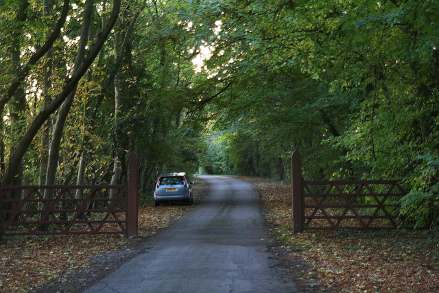 Leaving Grainsby Park on an October afternoon