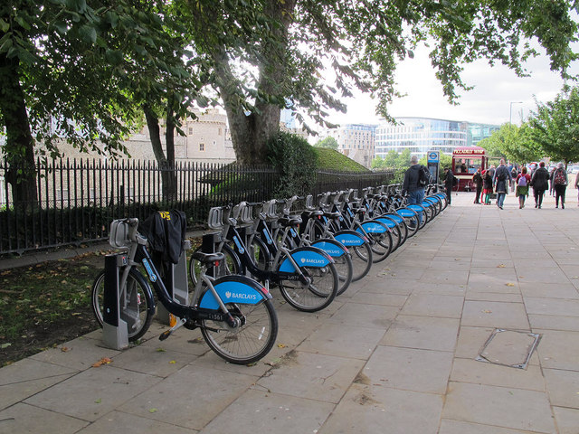 Tower Hill docking station