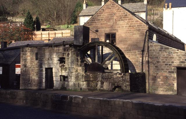 Cromford - waterwheel