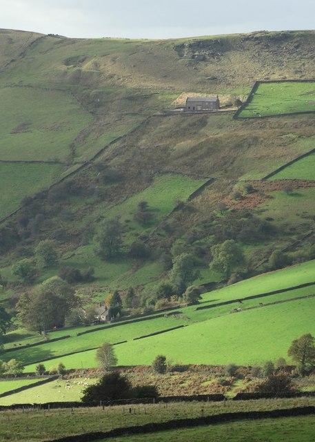 Whiterakes Farm from Mount Famine