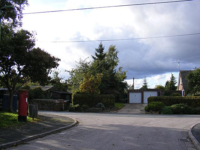 Plampin Close & Church Road Postbox