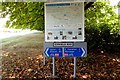 SU4887 : Information panel on the Icknield Way by Steve Daniels