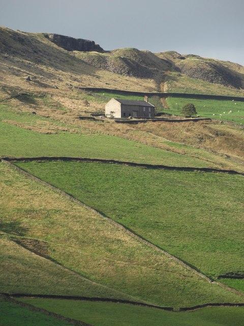 Whiterakes seen from White Knowl Farm