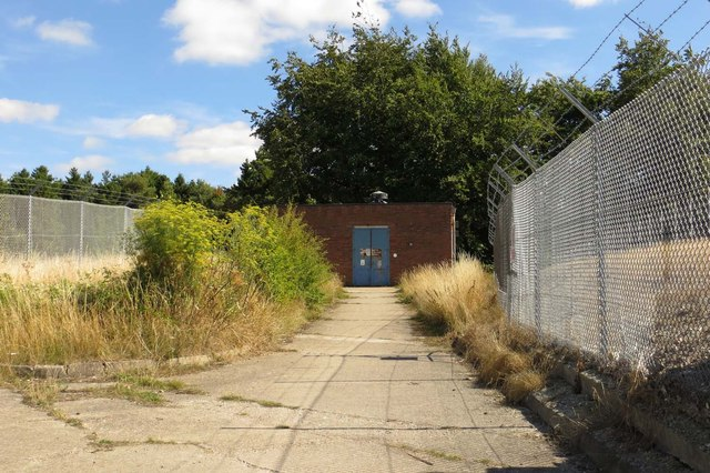 The Icknield Way by the sewage works