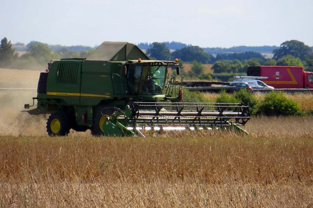 Harvesting by the A34
