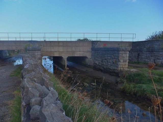 Railway bridge at Llannerch-y-mor