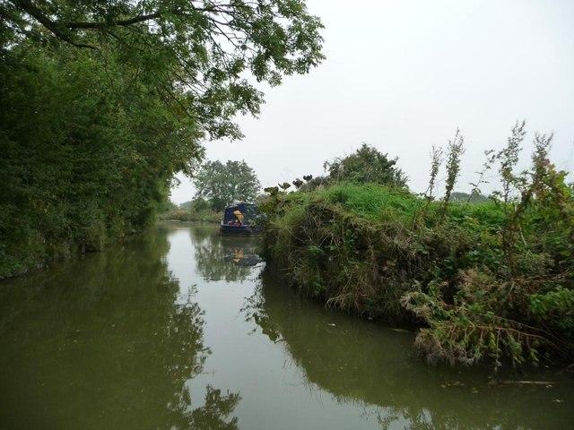 Narrows for a former swingbridge?