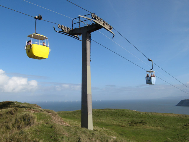 Cable-car pylon