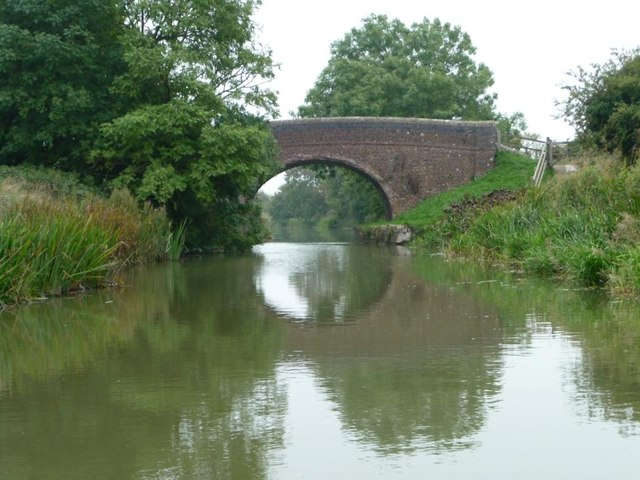 Woodborough Fields Bridge from the west