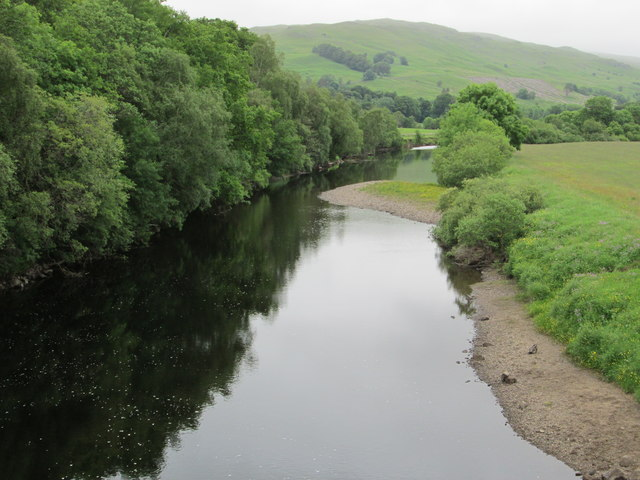 River view from the bridge
