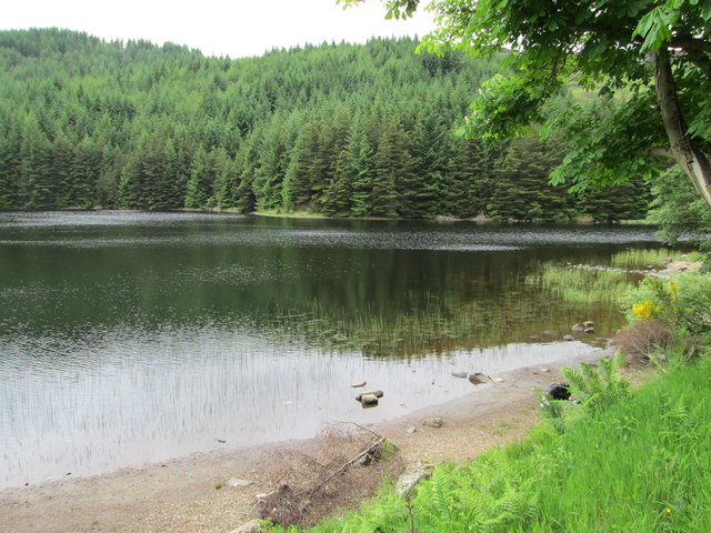 Northern arm of Lochan Lairig Cheile