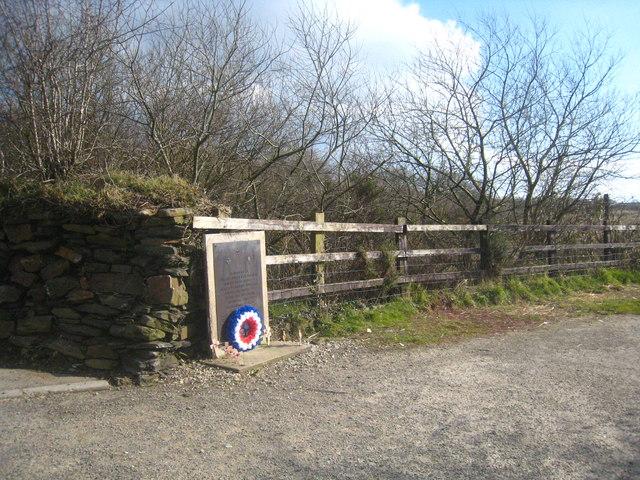Memorial at Anvil Corner