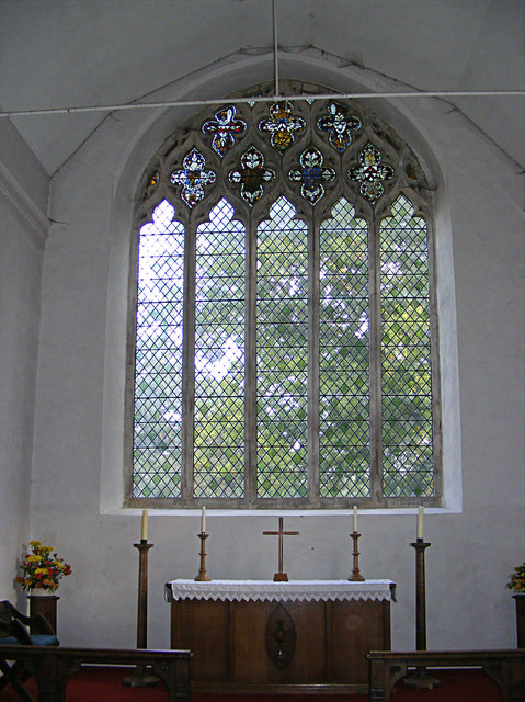 All Saints Window & Altar