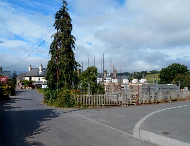 Building site in Dorstone